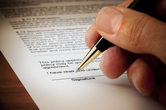 http://www.dreamstime.com/stock-photography-signed-contract-signature-document-image19472032